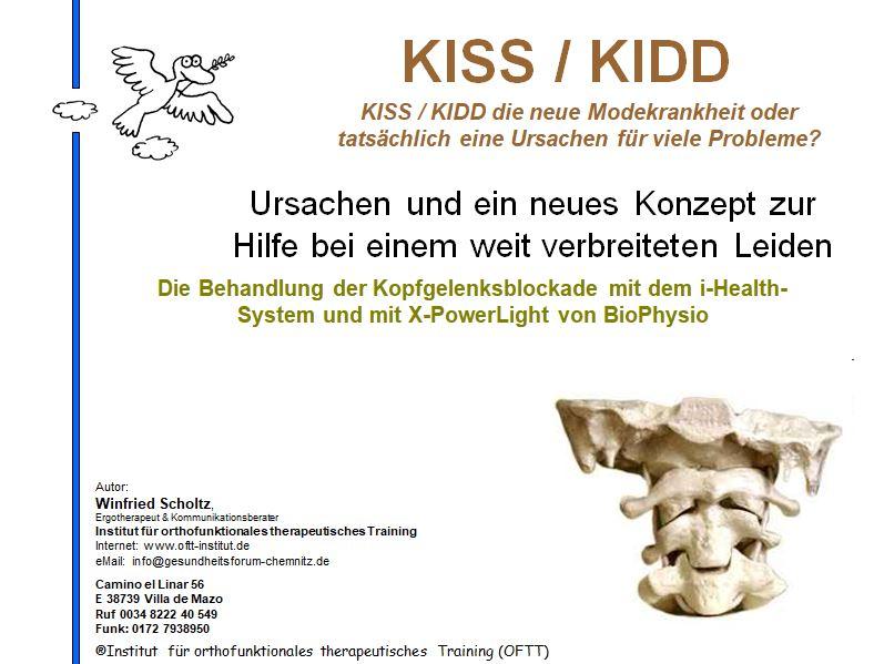kiss kIDD und Schleudertrauma